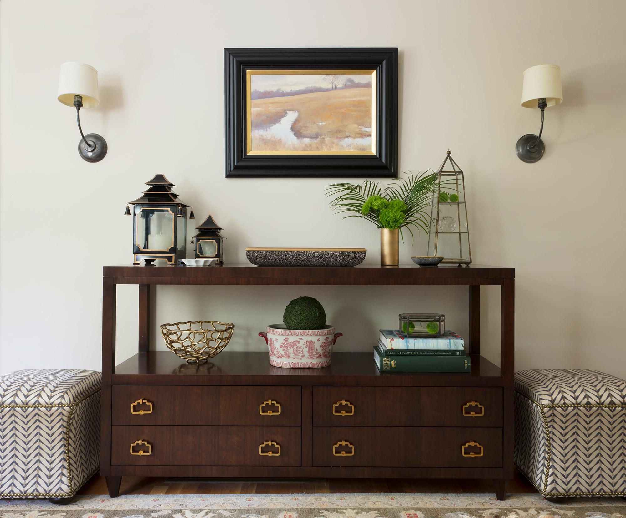 Quietly Elegant Living Room Portfolio Maven